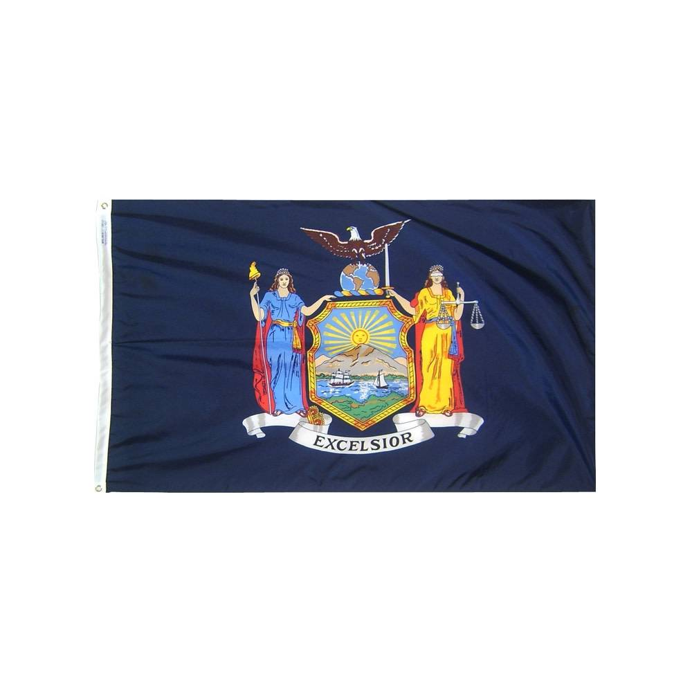 12x18 in. New York Nautical Flag