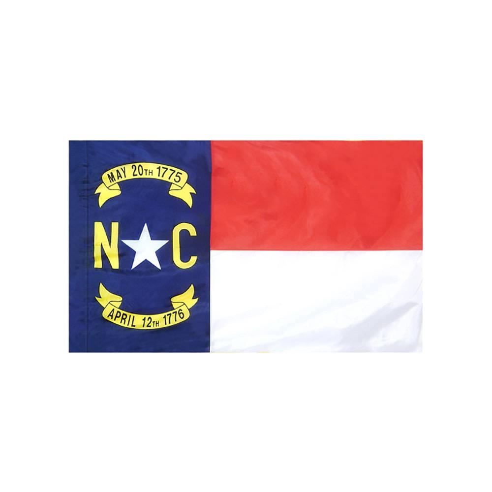 North Carolina Flag with Polesleeve