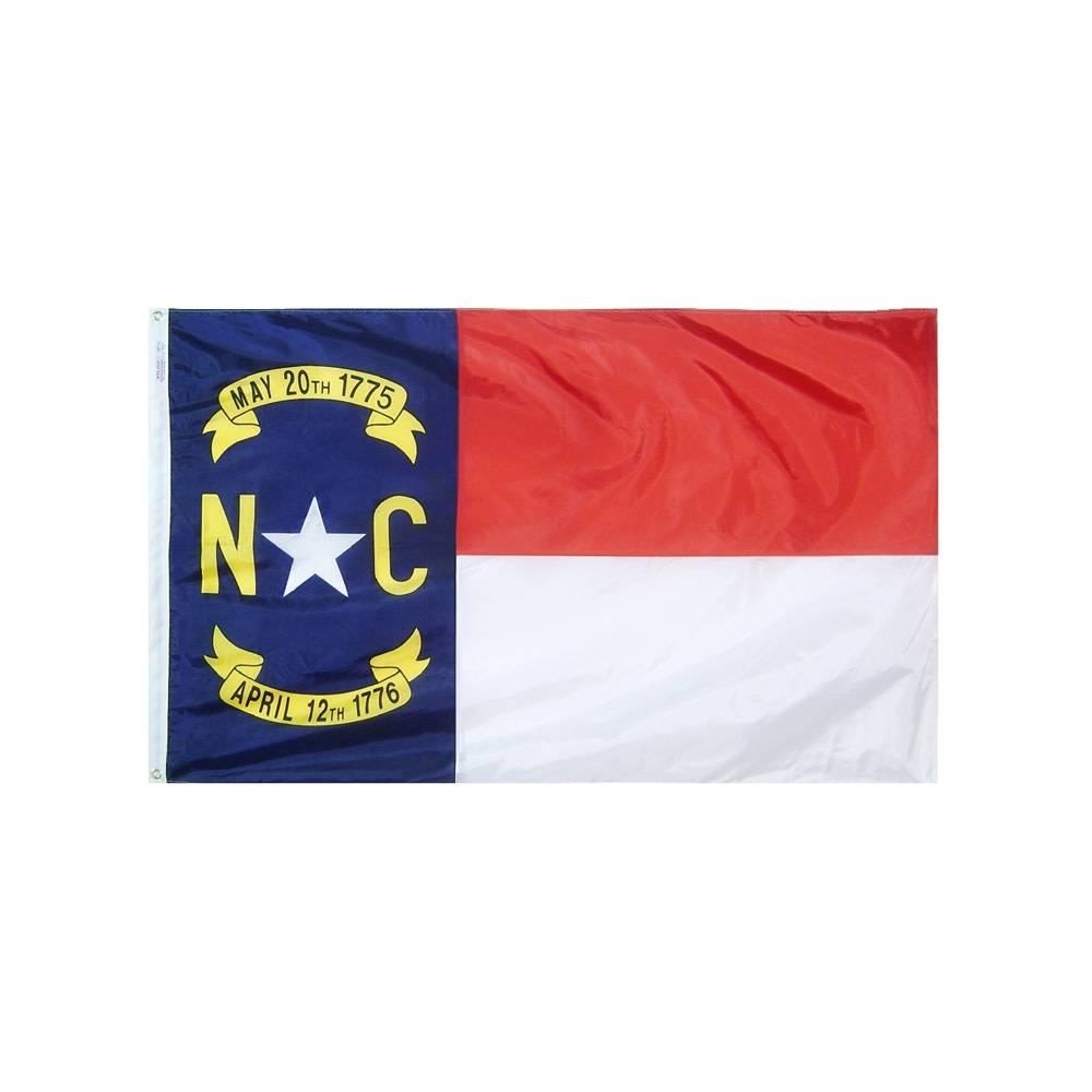 12x18 in. North Carolina Nautical Flag