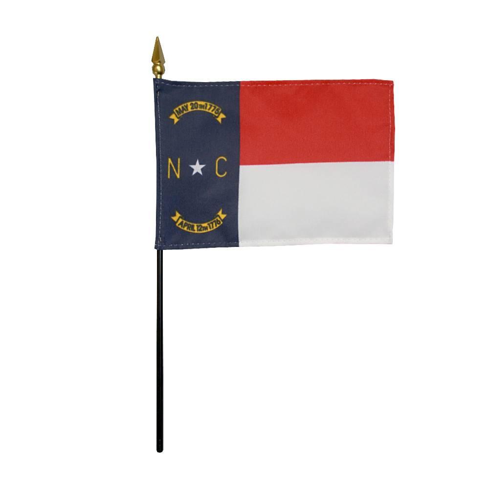 North Carolina Stick Flag