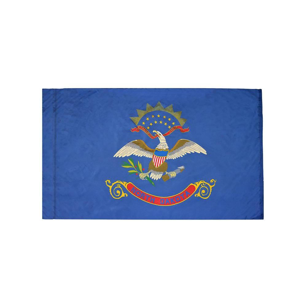 North Dakota Flag with Polesleeve