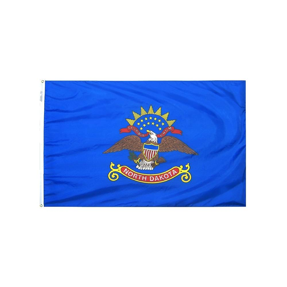 12x18 in. North Dakota Nautical Flag