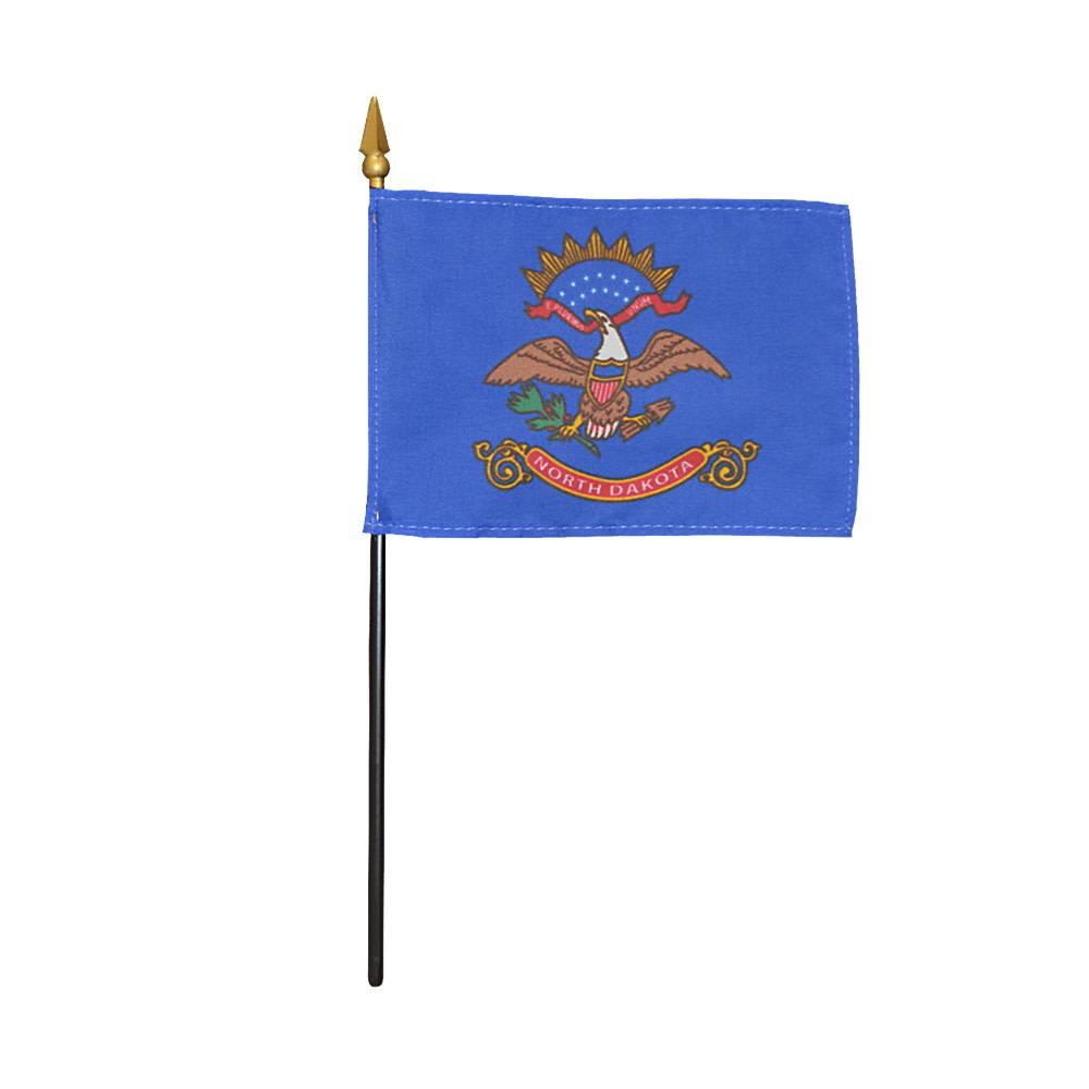 North Dakota Stick Flag