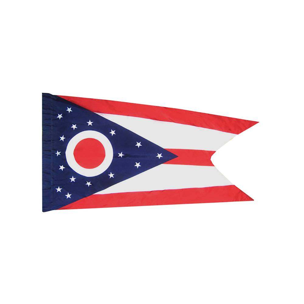 Ohio Flag with Polesleeve