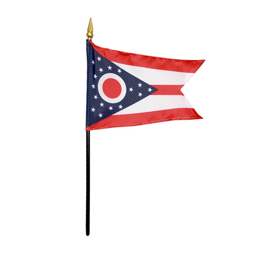 Ohio Stick Flag