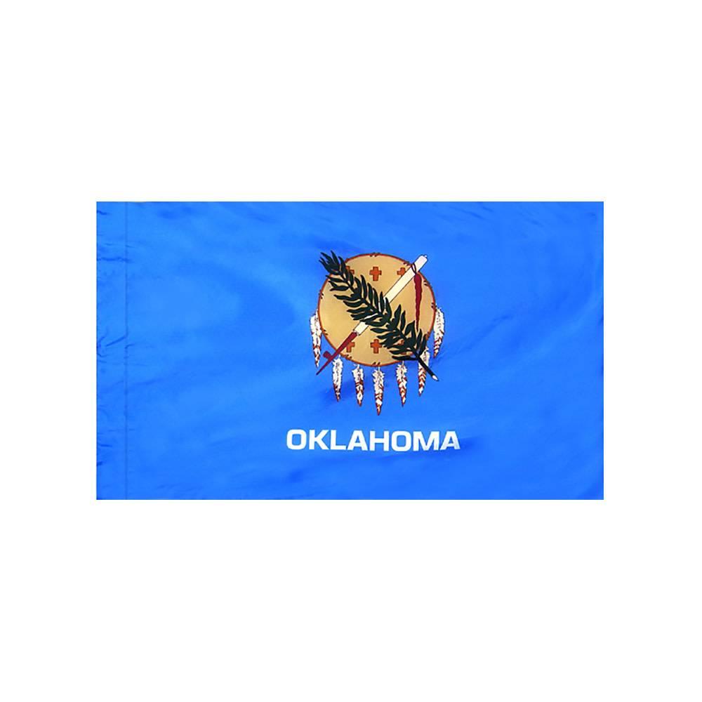 Oklahoma Flag with Polesleeve