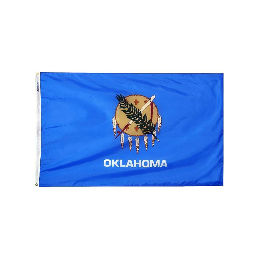 12x18 in. Oklahoma Nautical Flag