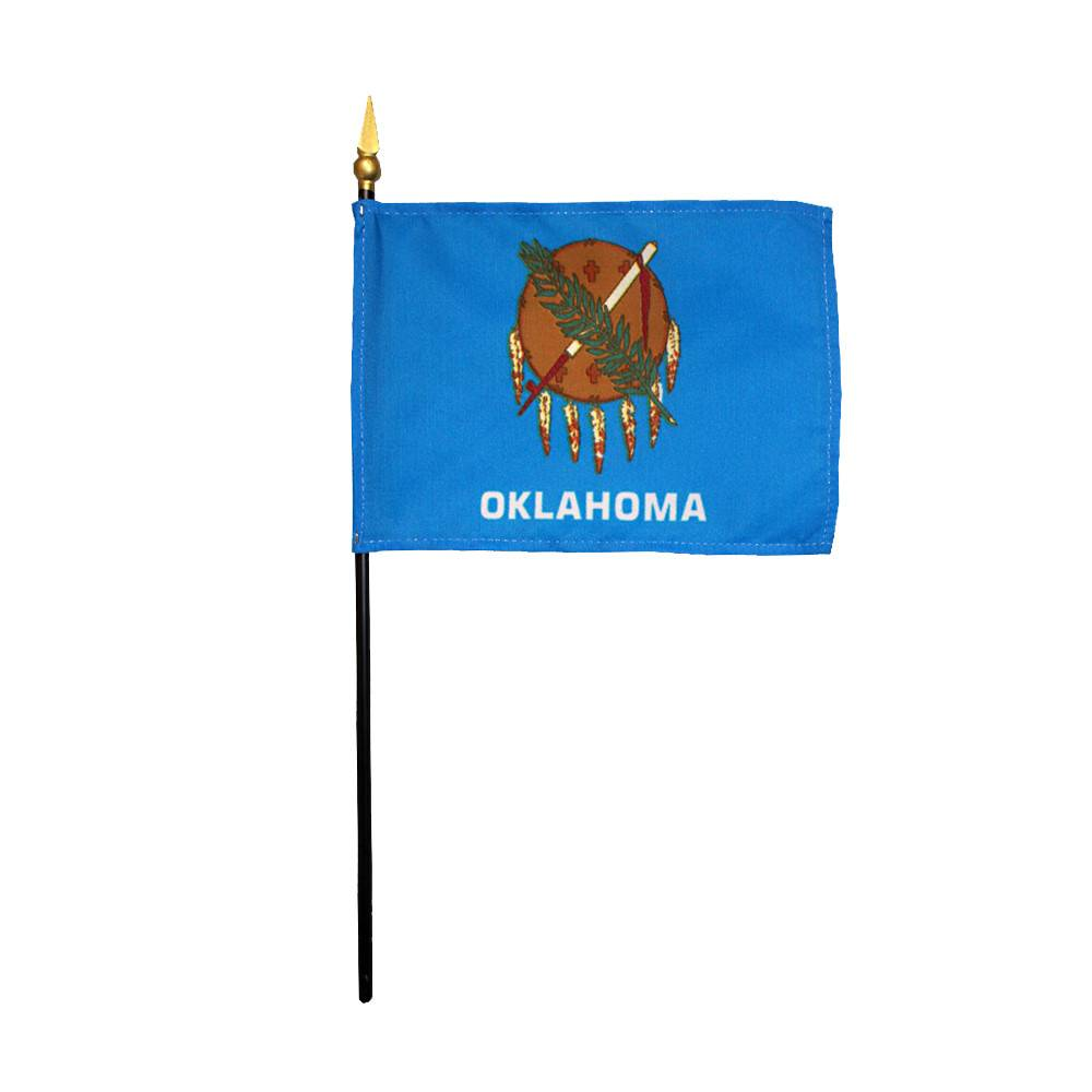 Oklahoma Stick Flag