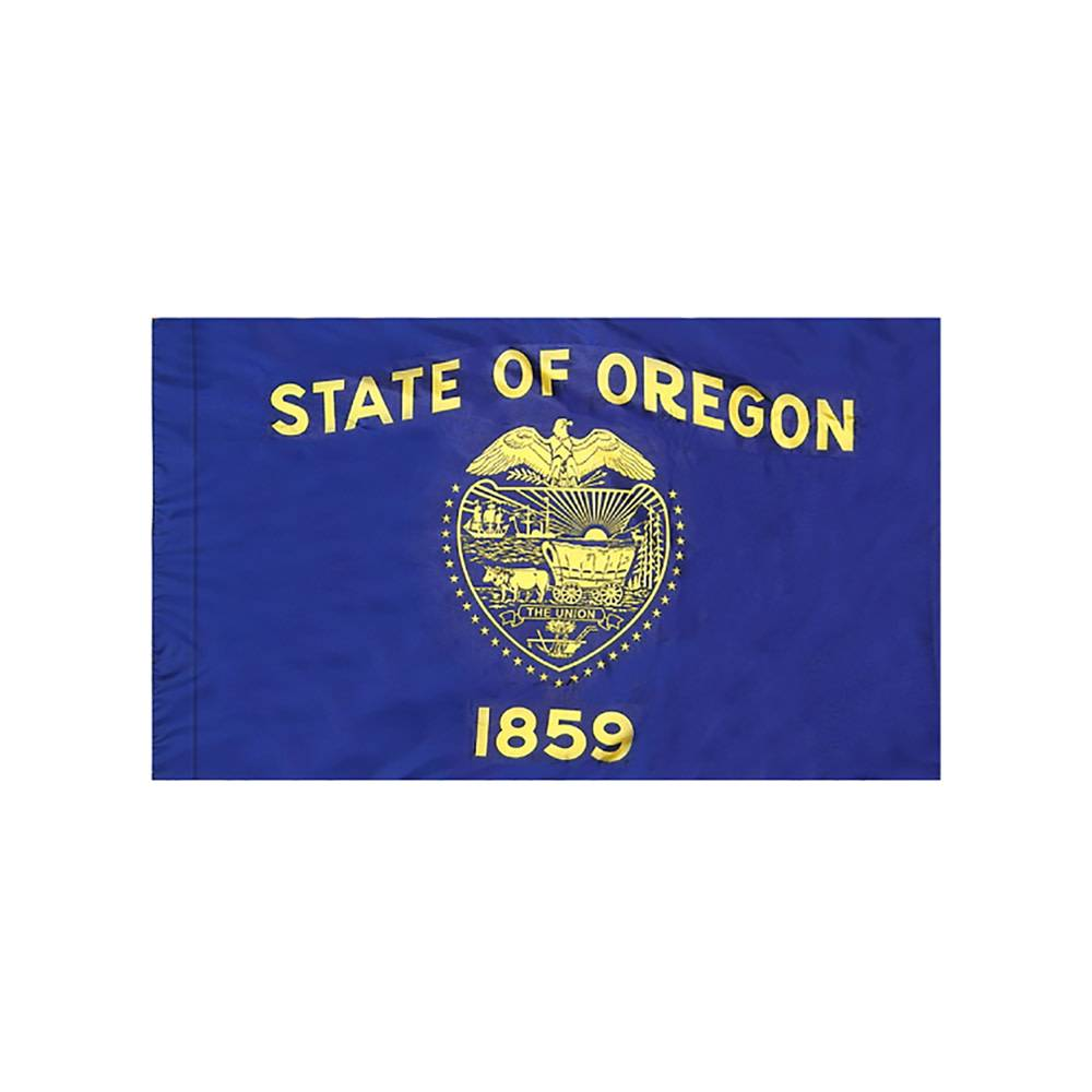 Oregon Flag with Polesleeve