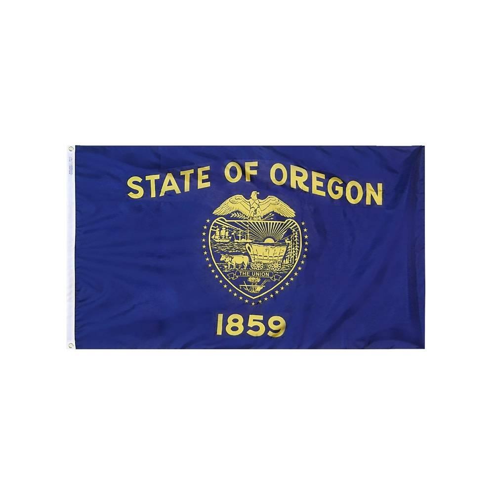 12x18 in. Oregon Nautical Flag