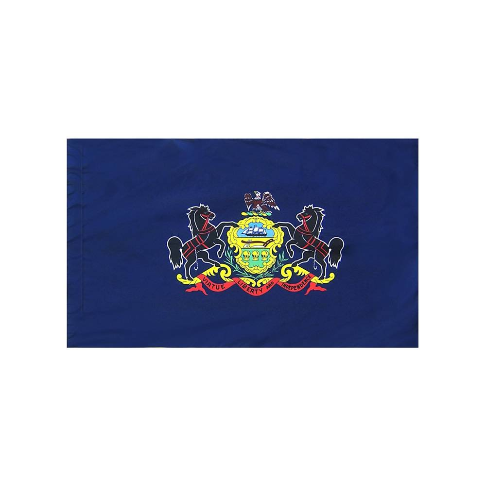 Pennsylvania Flag with Polesleeve