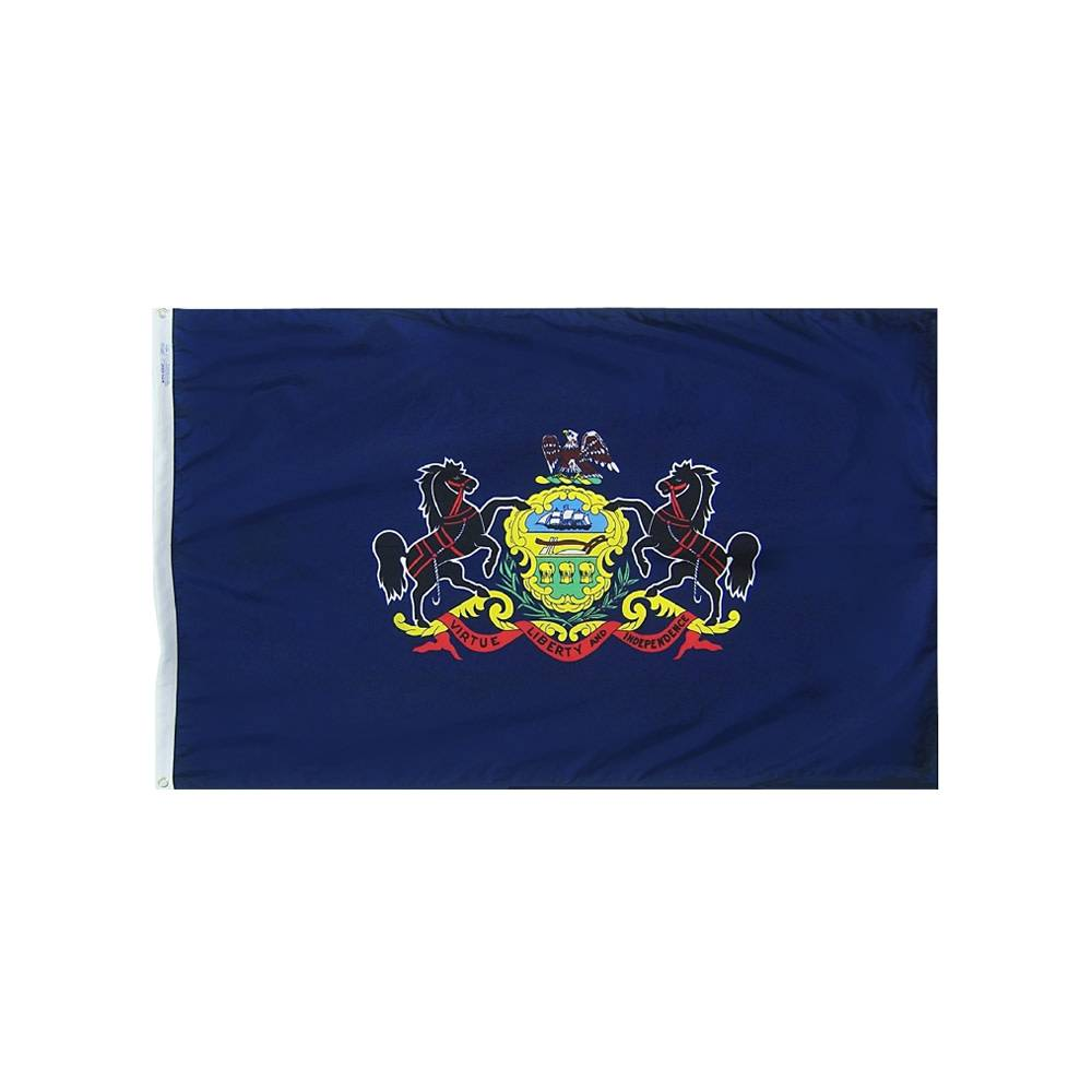 12x18 in. Pennsylvania Nautical Flag