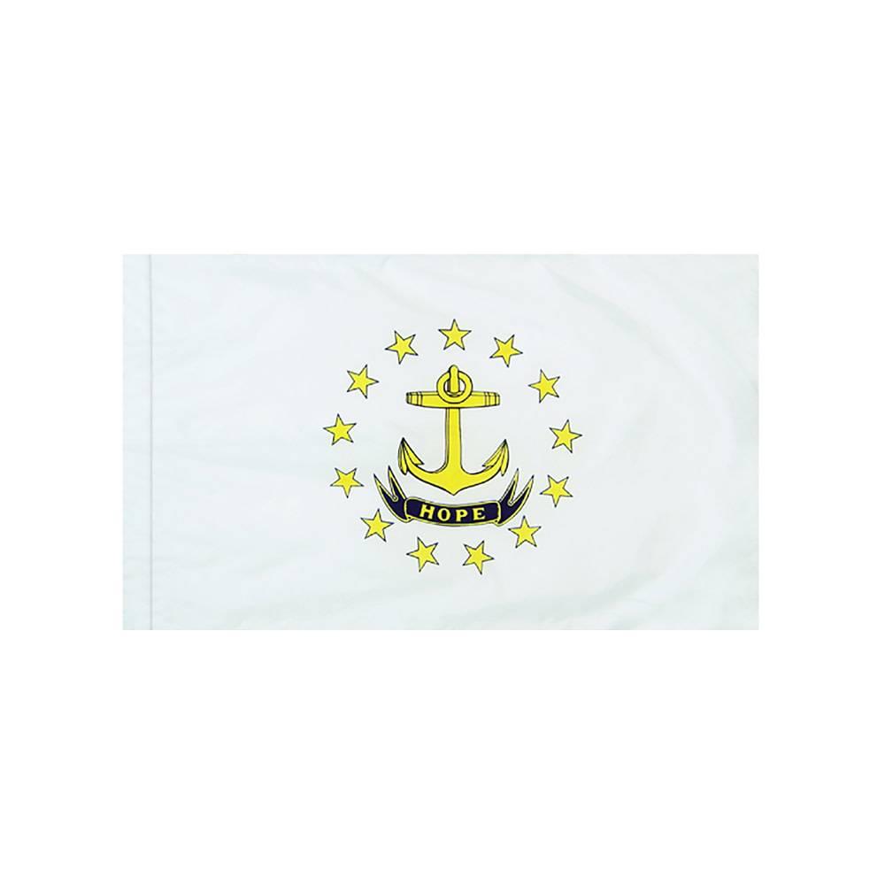 Rhode Island Flag with Polesleeve