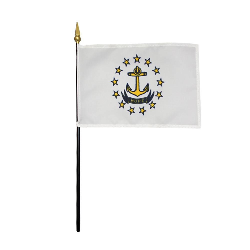Rhode Island Stick Flag