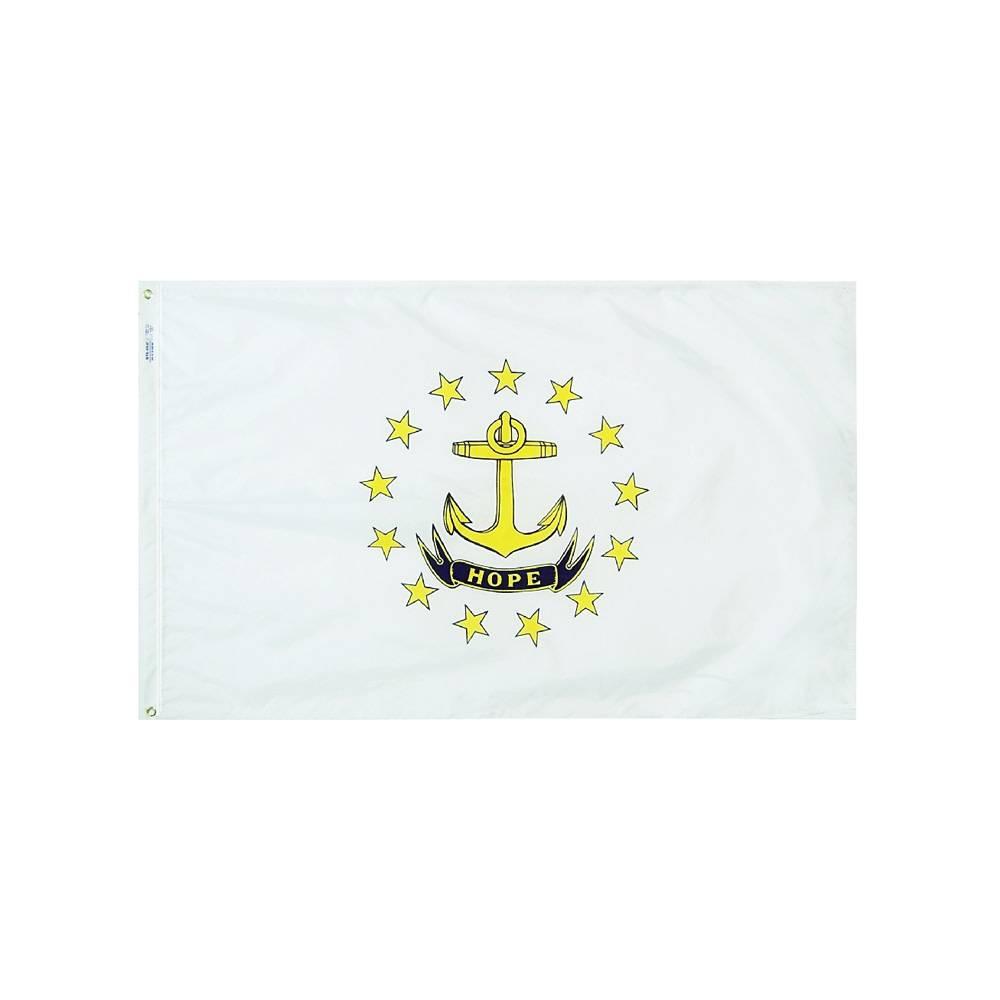 12x18 in. Rhode Island Nautical Flag
