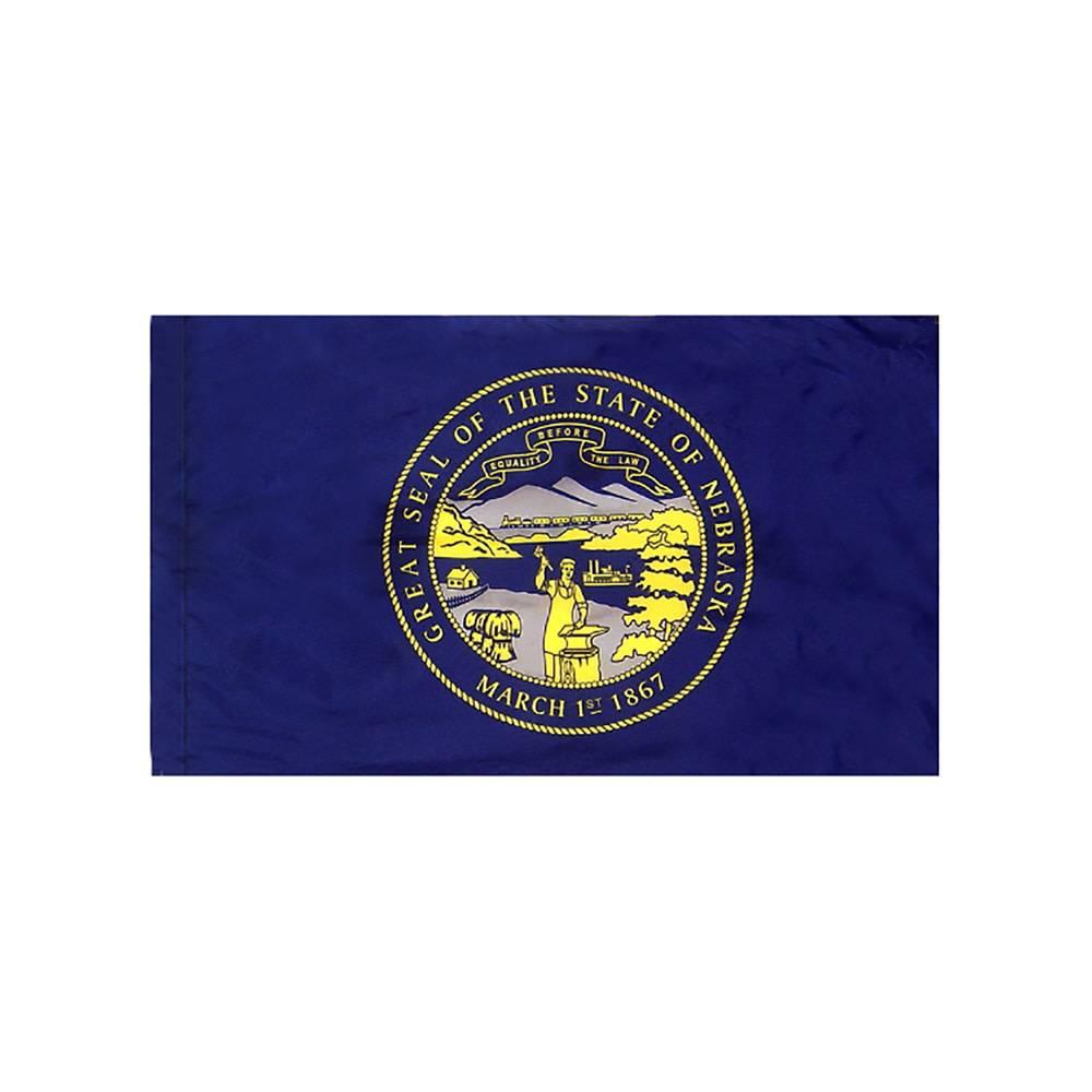 Nebraska Flag with Polesleeve
