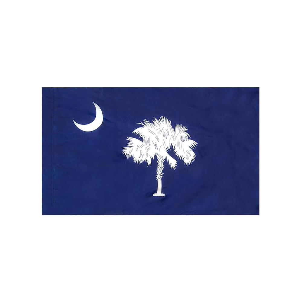 South Carolina Flag with Polesleeve