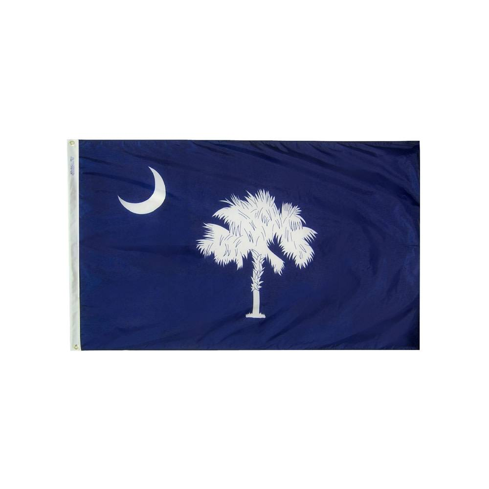 12x18 in. South Carolina Nautical Flag