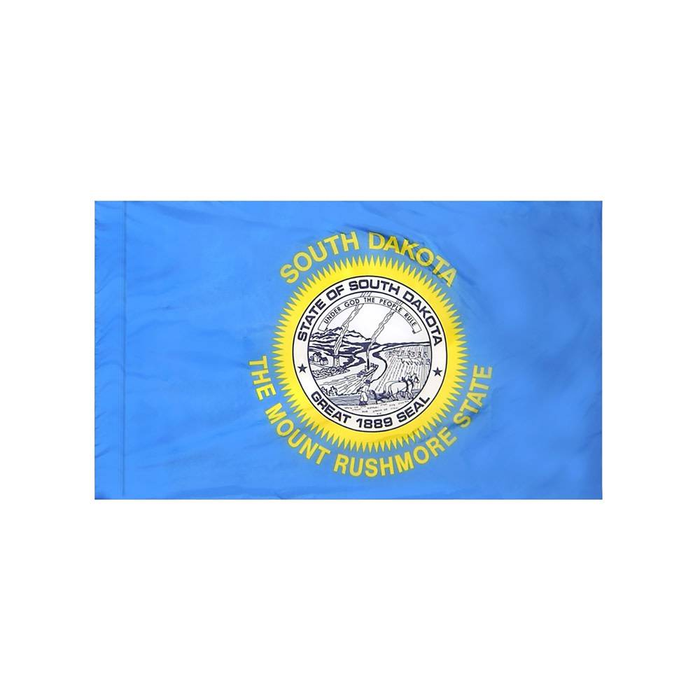 South Dakota Flag with Polesleeve