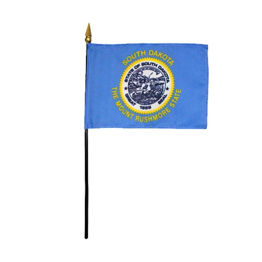 South Dakota Stick Flag
