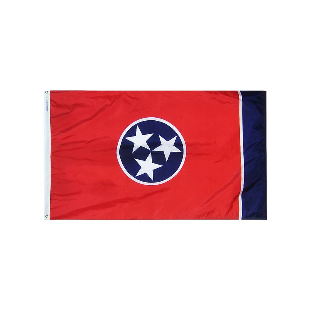 12x18 in. Tennessee Nautical Flag