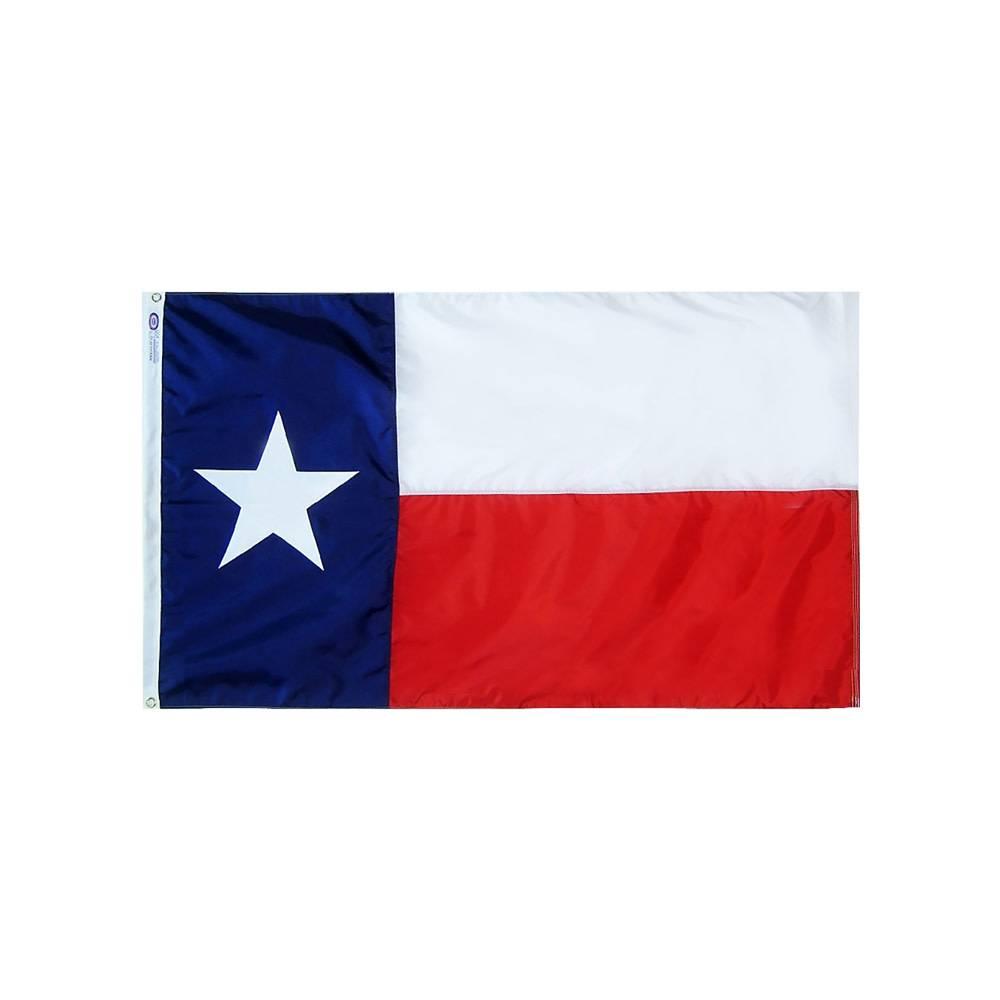 12x18 in. Texas Nautical Flag