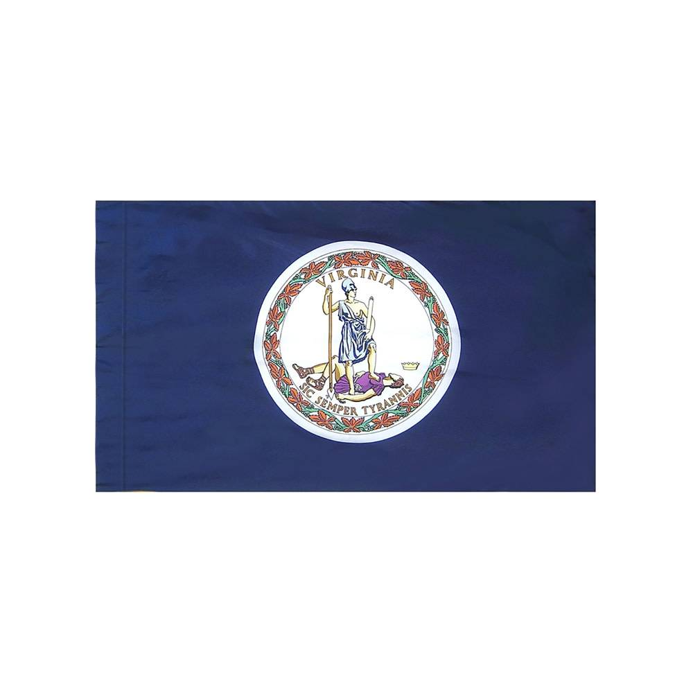 Virginia Flag with Polesleeve