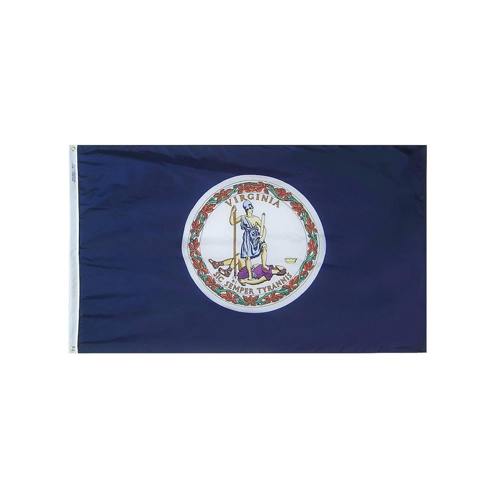 12x18 in. Virginia Nautical Flag