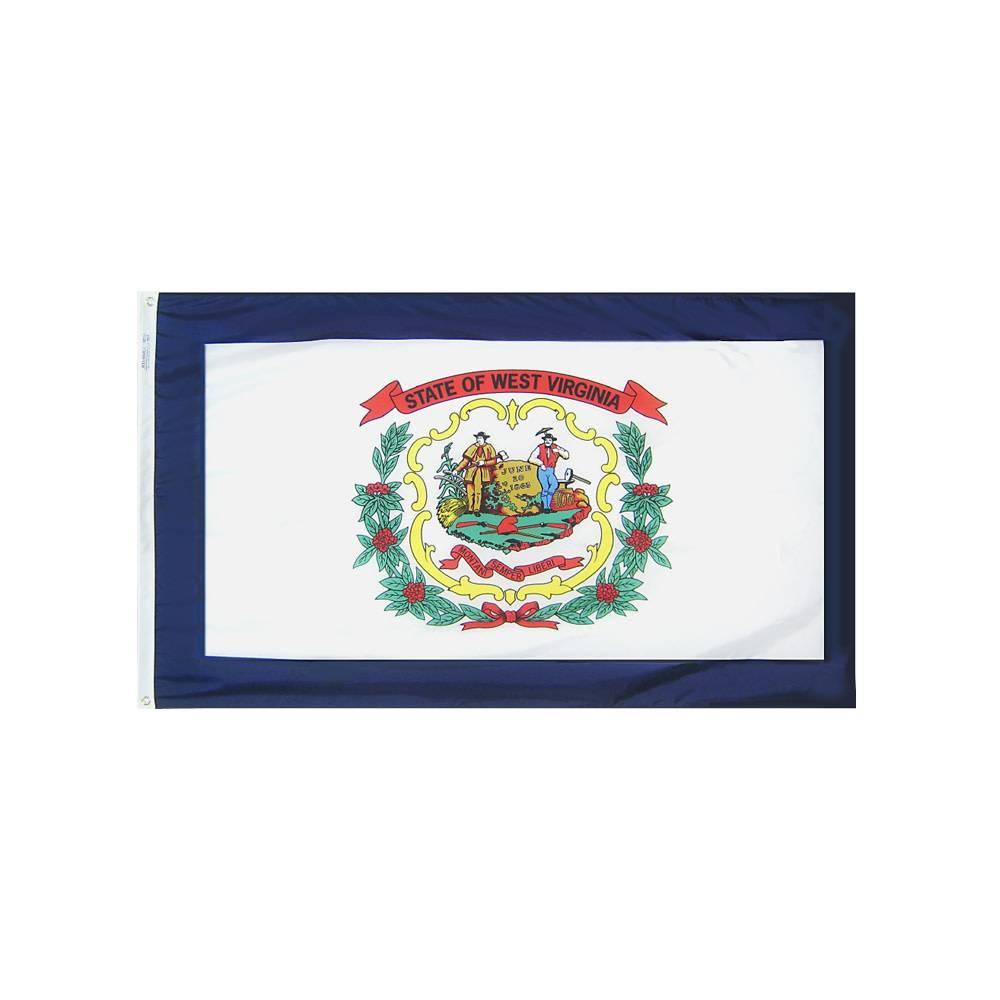 12x18 in. West Virginia Nautical Flag