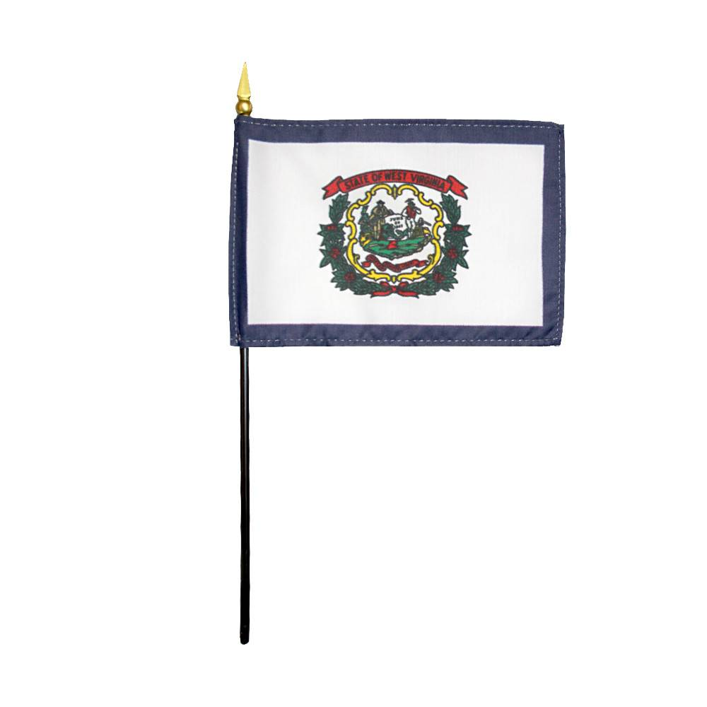 West Virginia Stick Flag