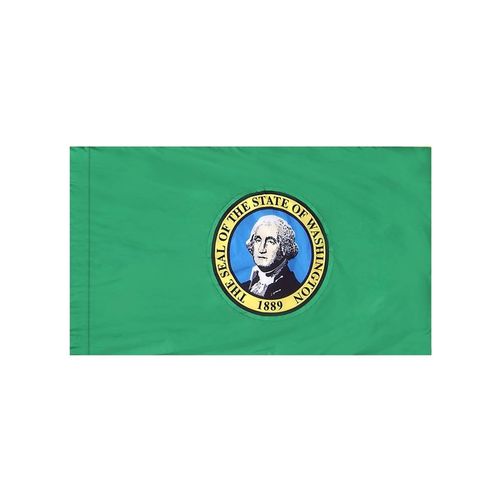 Washington Flag with Polesleeve