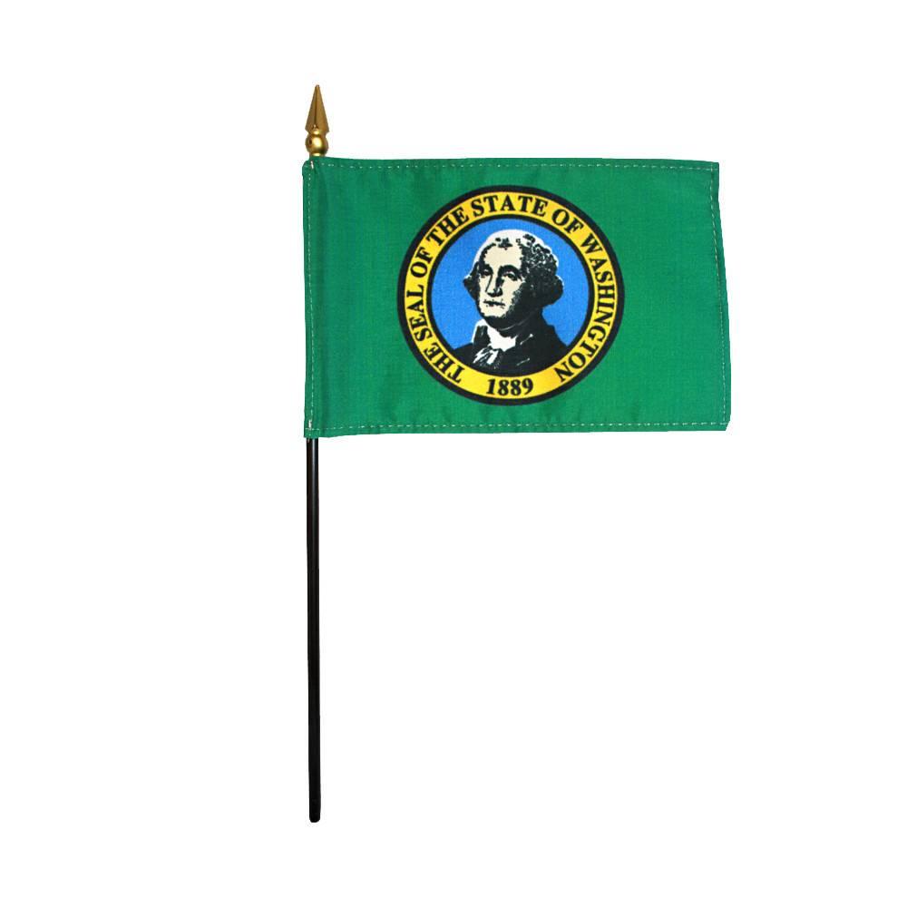 Washington Stick Flag