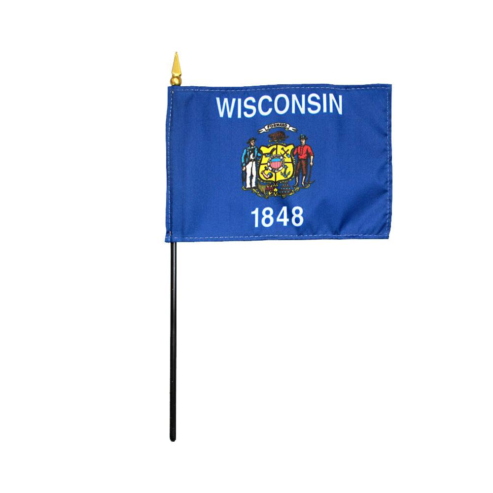 Wisconsin Stick Flag