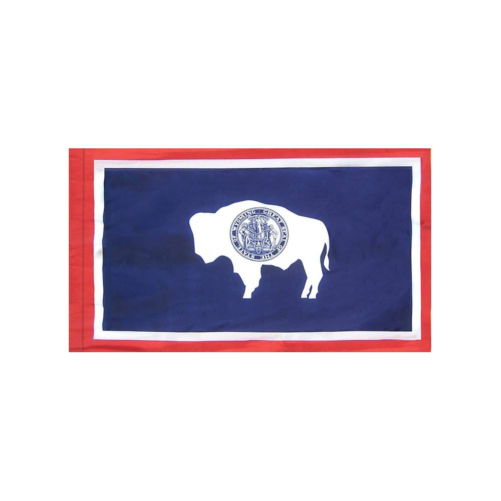 Wyoming Flag with Polesleeve