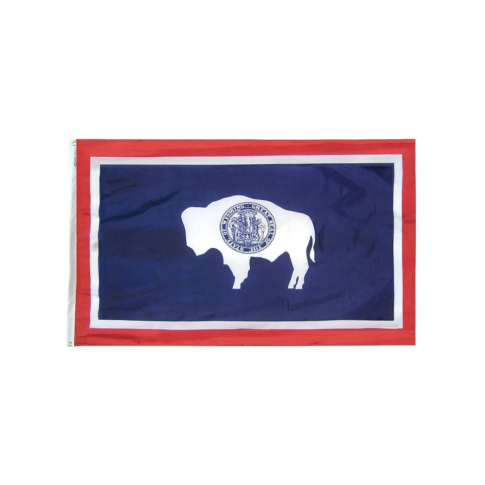 12x18 in. Wyoming Nautical Flag