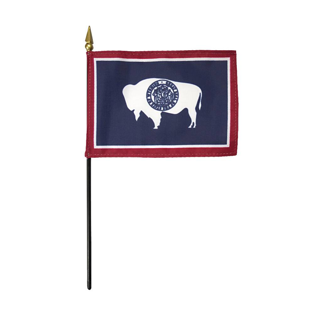 Wyoming Stick Flag