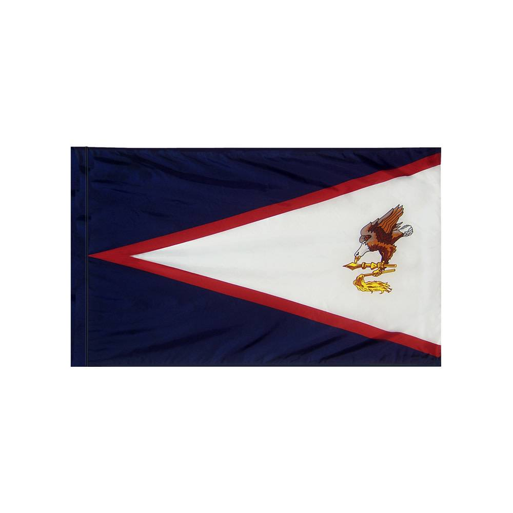 American Samoa Flag with Polesleeve