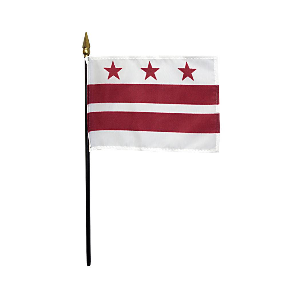 District of Columbia Stick Flag