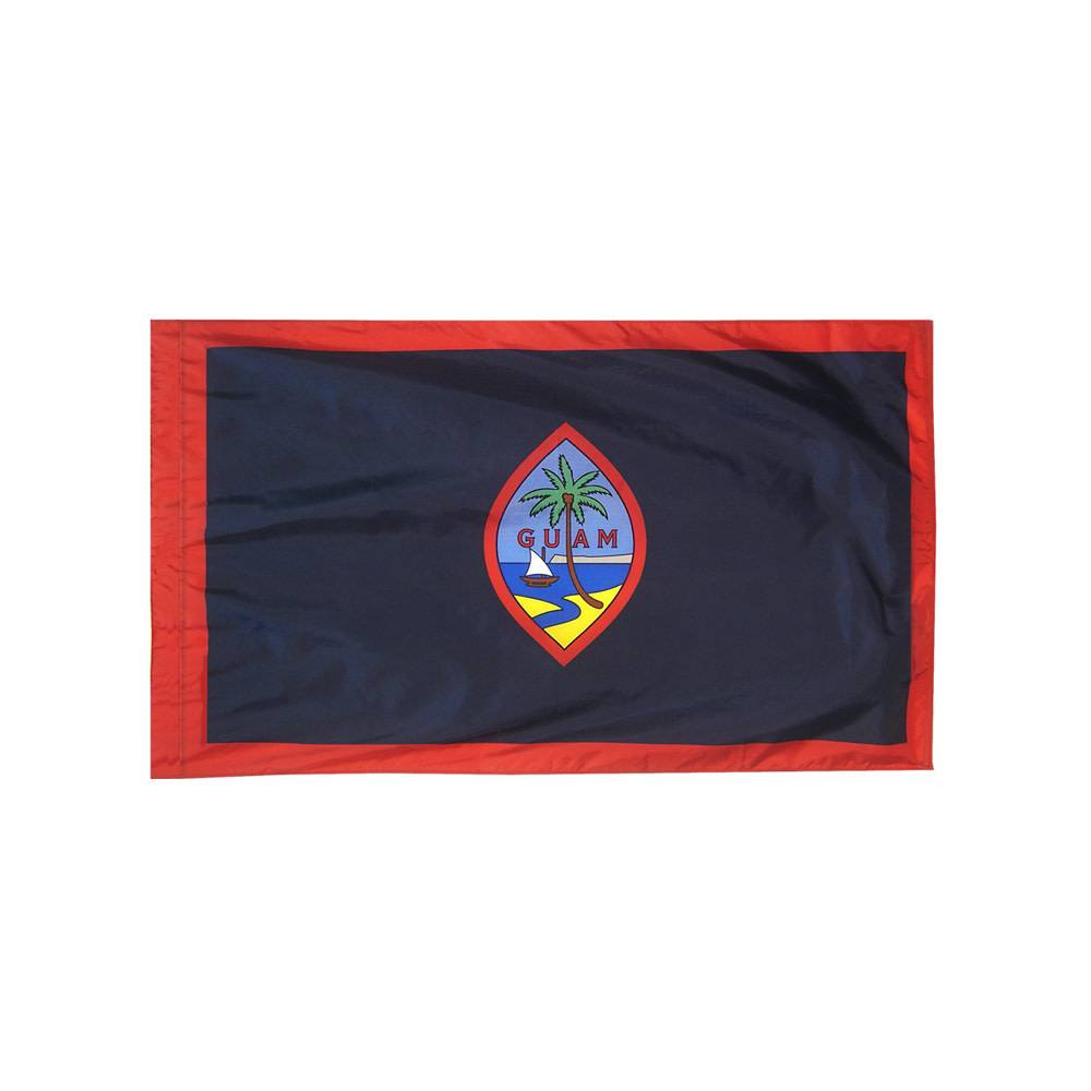 Guam Flag with Polesleeve