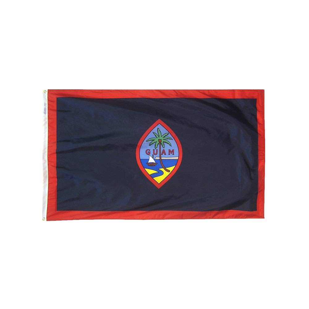 12x18 in. Guam Nautical Flag