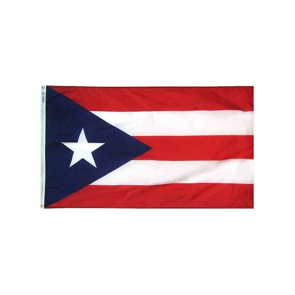 12x18 in. Puerto Rico Nautical Flag