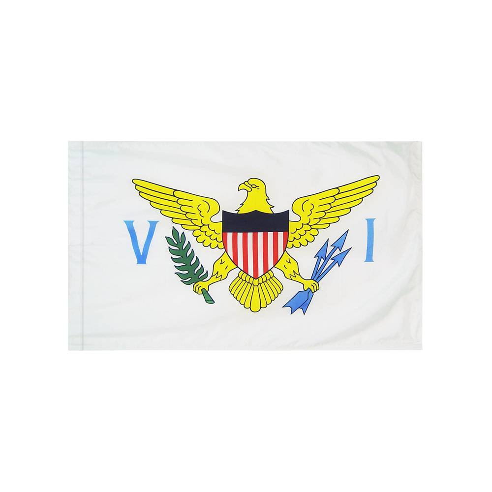 US Virgin Islands Flag with Polesleeve