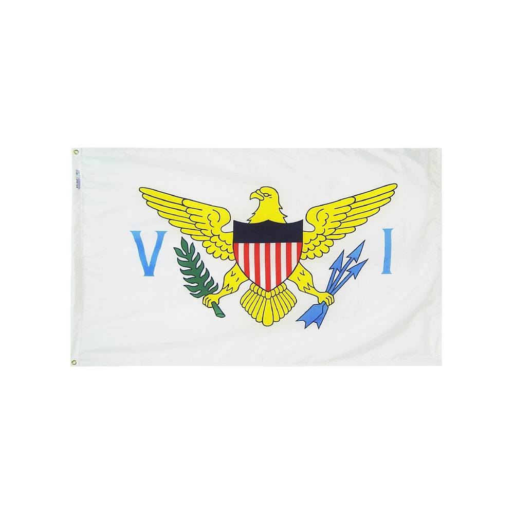 12x18 in. US Virgin Islands Nautical Flag