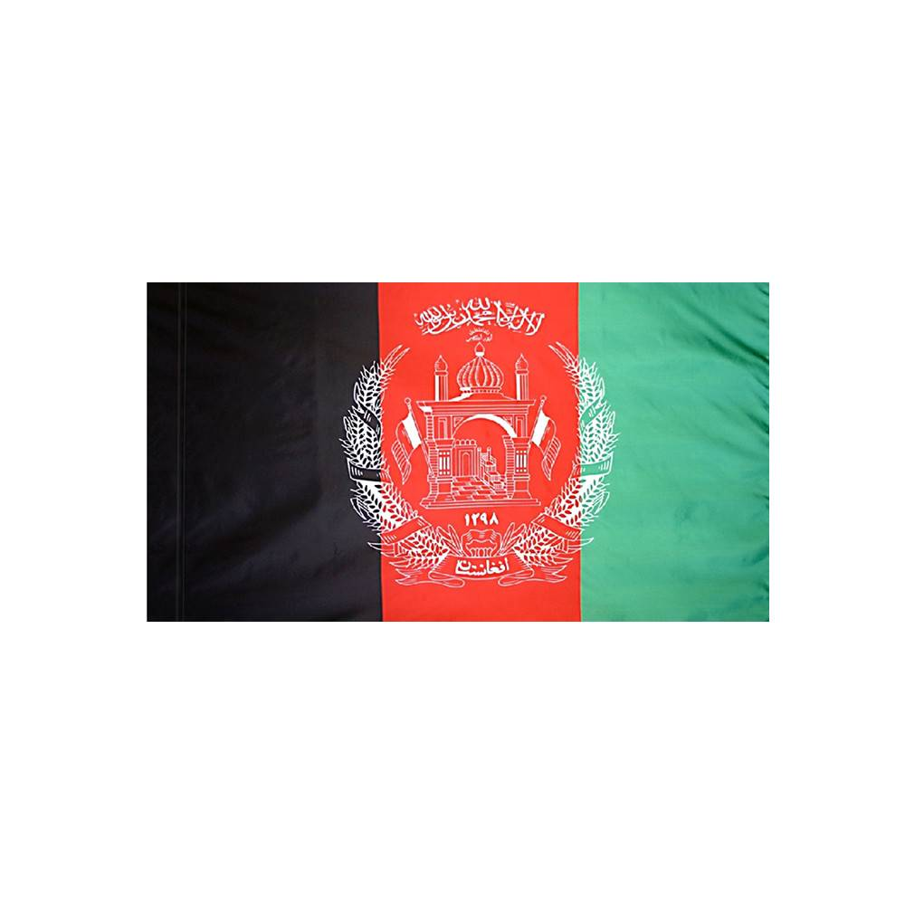 Afghanistan Flag  with Polesleeve
