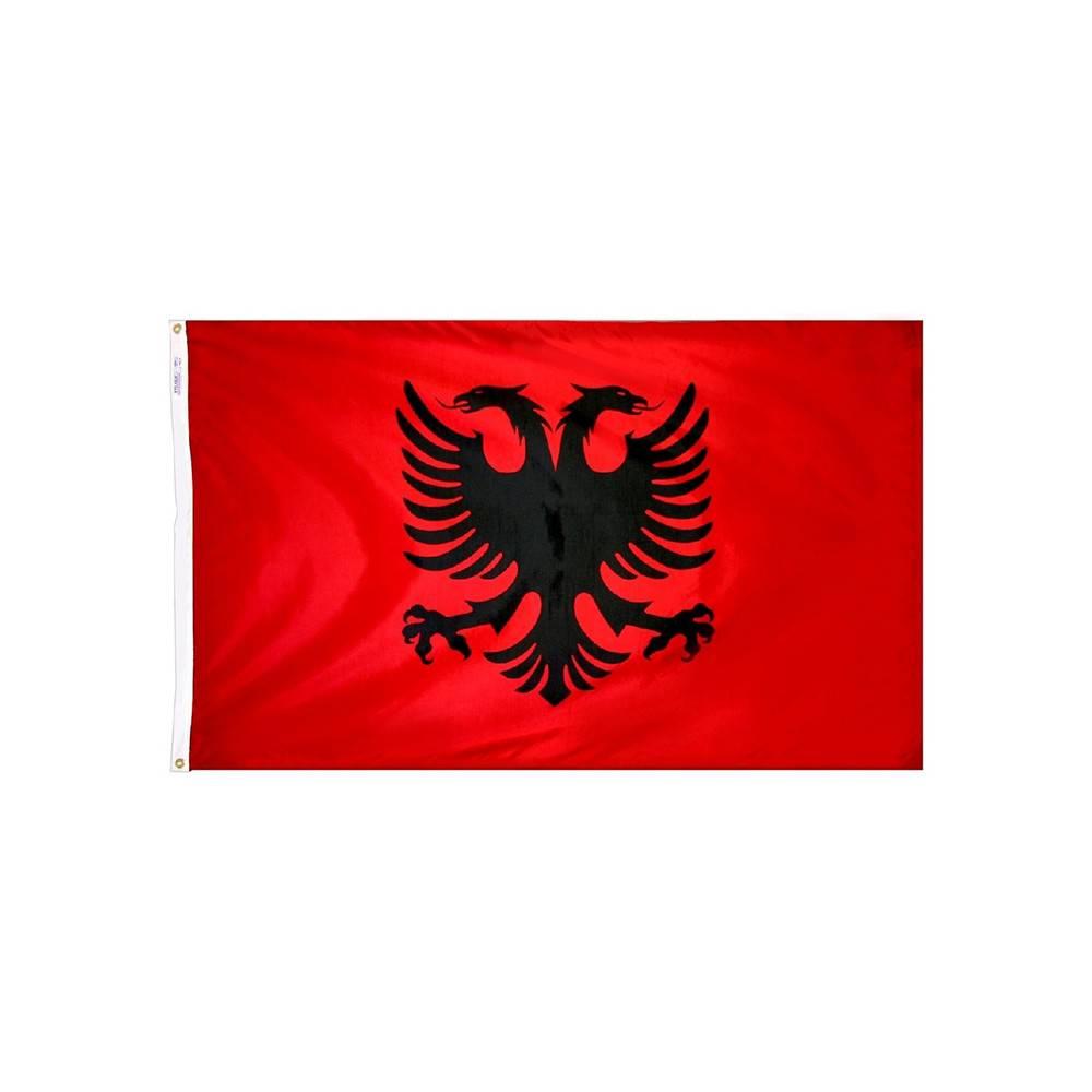 Albania Flag - All-Weather Nylon