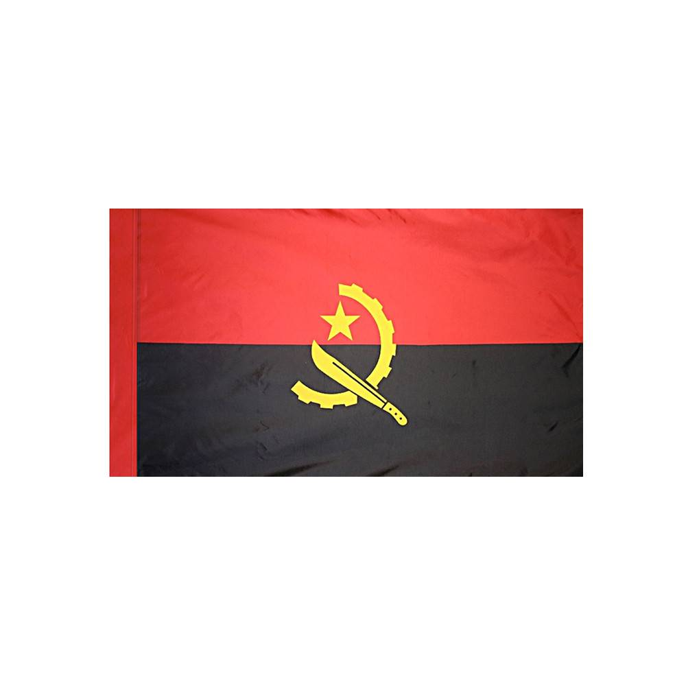 Angola Flag with Polesleeve