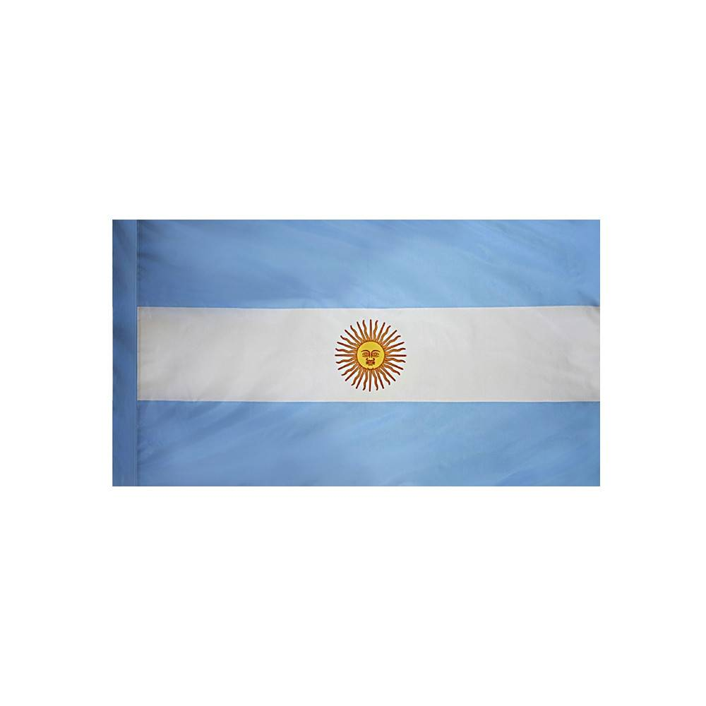 Argentina Flag with Polesleeve
