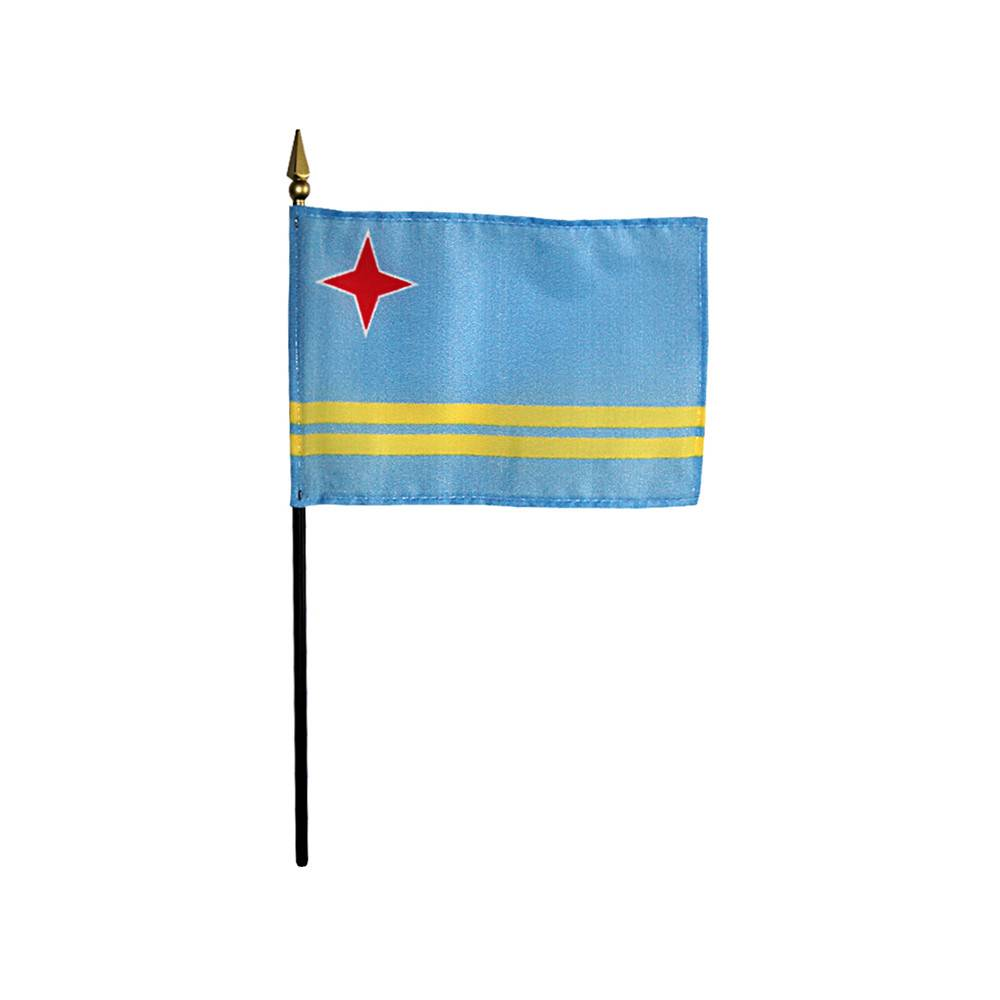 Aruba Stick Flag