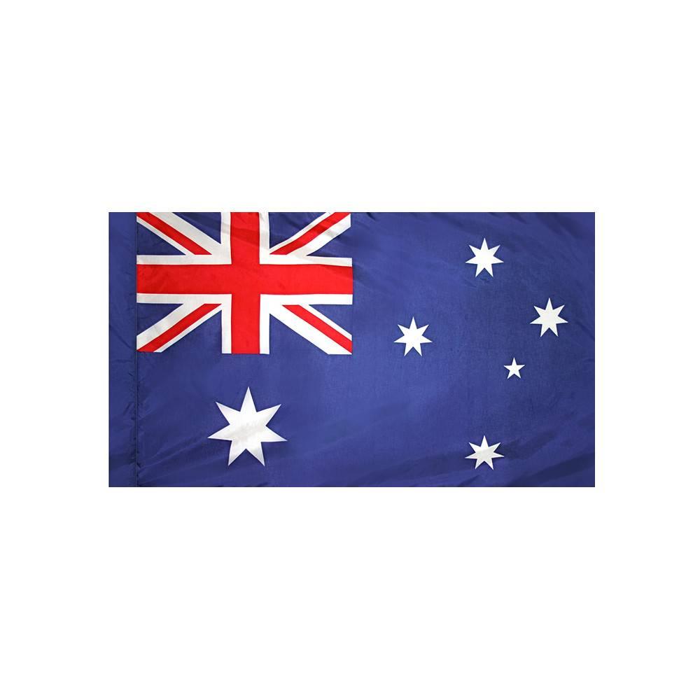 Australia Flag with Polesleeve