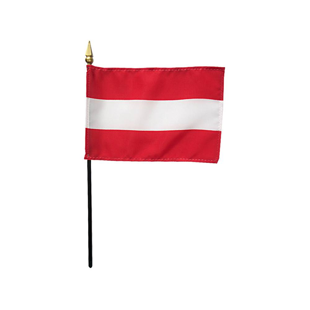 Austria Stick Flag
